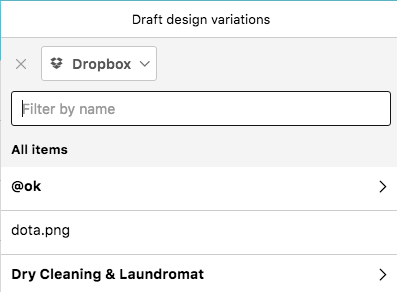Task attachments -Dropbox