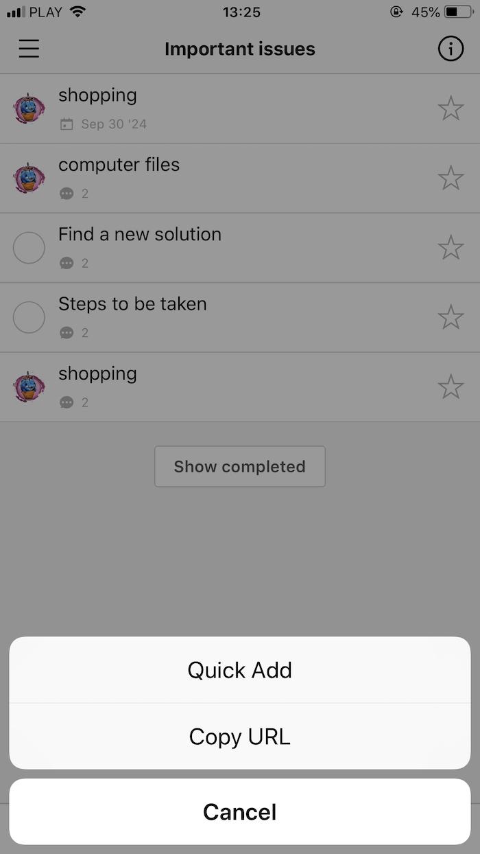 iOS app :: Nozbe Help